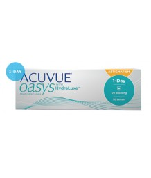 OASYS 1-DAY with HydraLuxe™ for Astigmatism