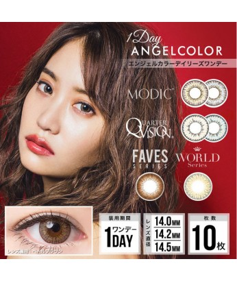 AngelColor 1DAY 10片裝
