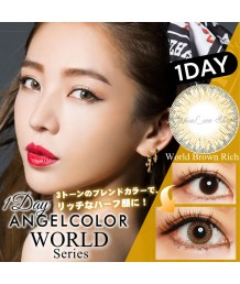 AngelColor World Series 1DAY 30片裝