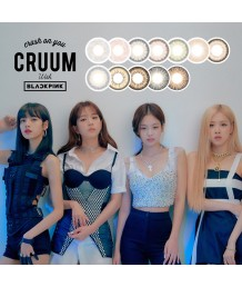 CRUUM with BLACKPINK 1day colorcon 10片裝 (Promo buy 2 get 1 free)