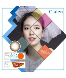 Clalen Iris One Day Alicia Brown Toric (散光COLOR)