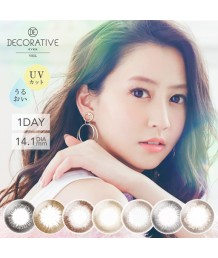 DECORATIVE Eyes Veil 1 day Colorcon(3colors)