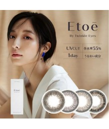 Etoe by Twinkle Eyes 1 day color 10片裝