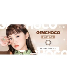 i-sha Jadey GEM CHOCO 1 day color 10片裝
