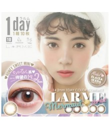 LARME Mermaid SERIES 1 day color 10片裝 (Promo buy 2 get 1 free)