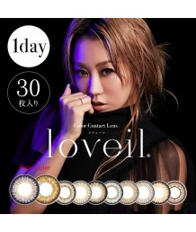 Loveil 1DAY Aqua Rich UV 30片裝