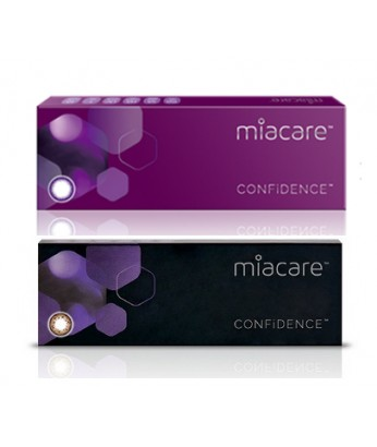 miacare CONFiDENCE Silicone Hydrogel 1 Day Color 10p