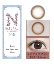 Naturali 1-day UV High Water Content 10片