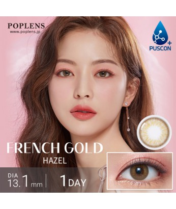 French gold 3con 1 day 10片