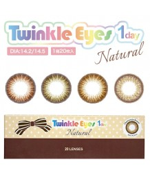 Twinkle Eyes 1day Natural 20片裝